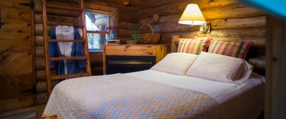 REST:  Stay in a beautiful farmhouse suite, cottage, log cabin or camp with resort amenities.