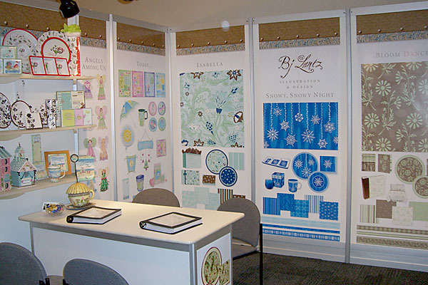 BJ Lantz Surtex booth 2007