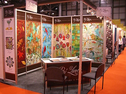 BJ Lantz Surtex Booth 2011