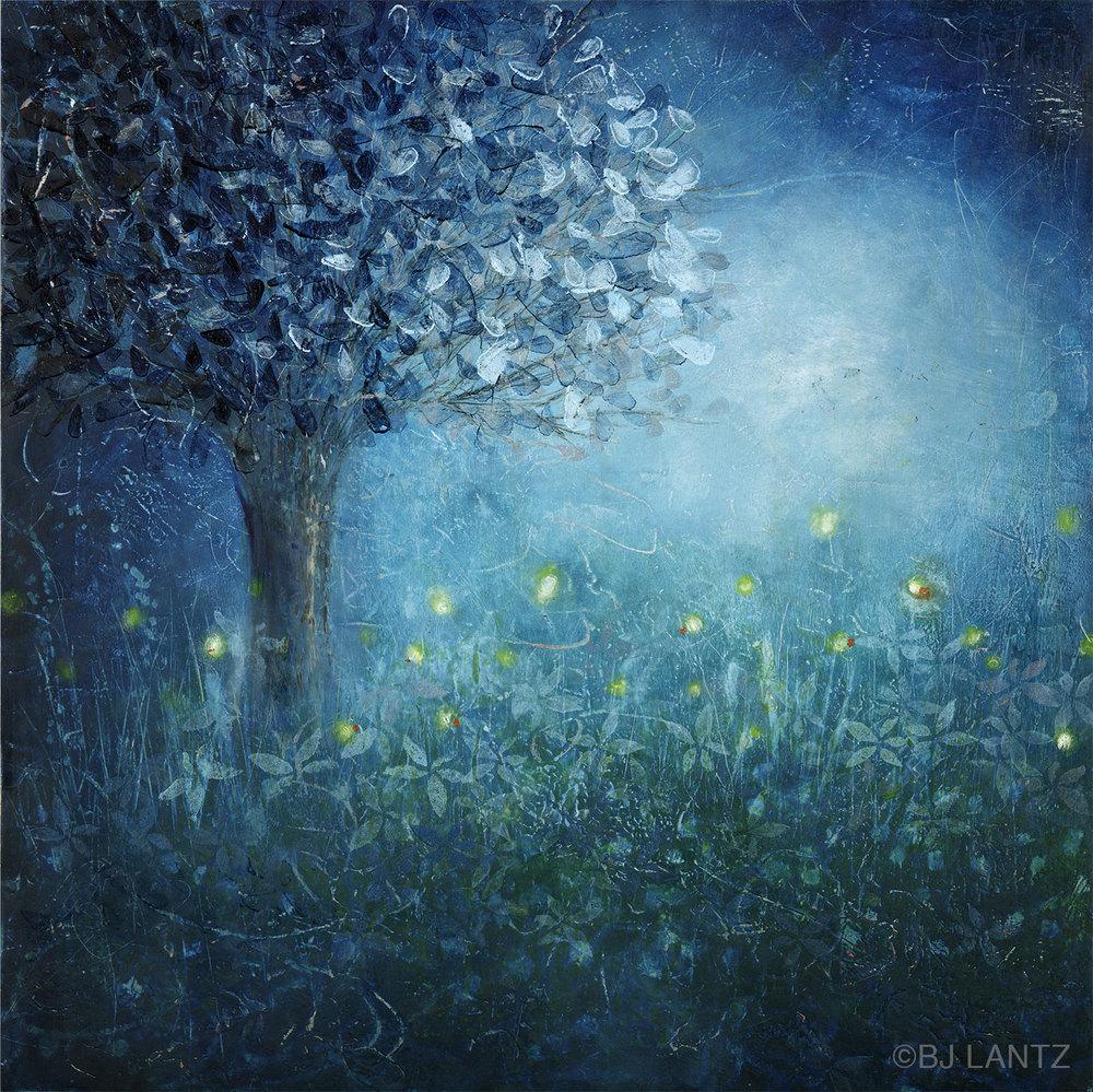 SOLD  • Fireflies & Moonlight