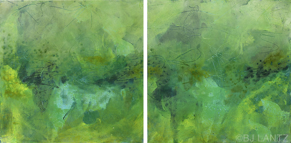 Sequence in Time Diptych