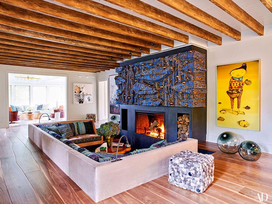 Architectural Digest, December 2017, Robert Downey Jr., photo: Francois Dischinger