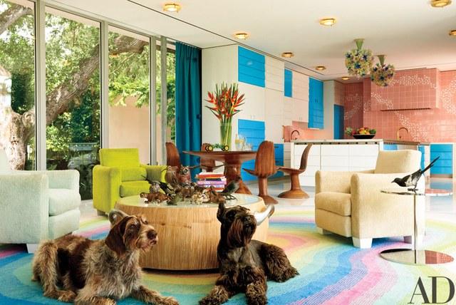 Architectural Digest, George Lindemann, photo: Francois Dischinger