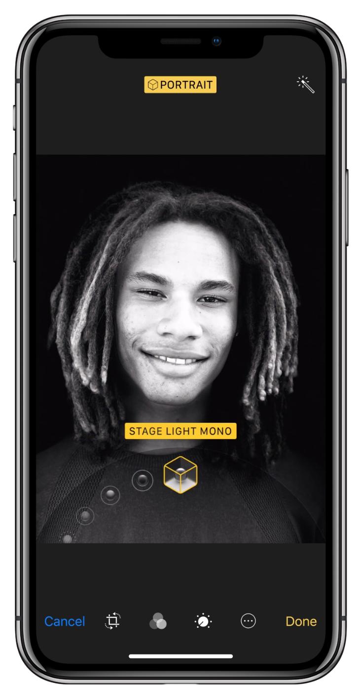 iPhone-X-Portrait-Lighting
