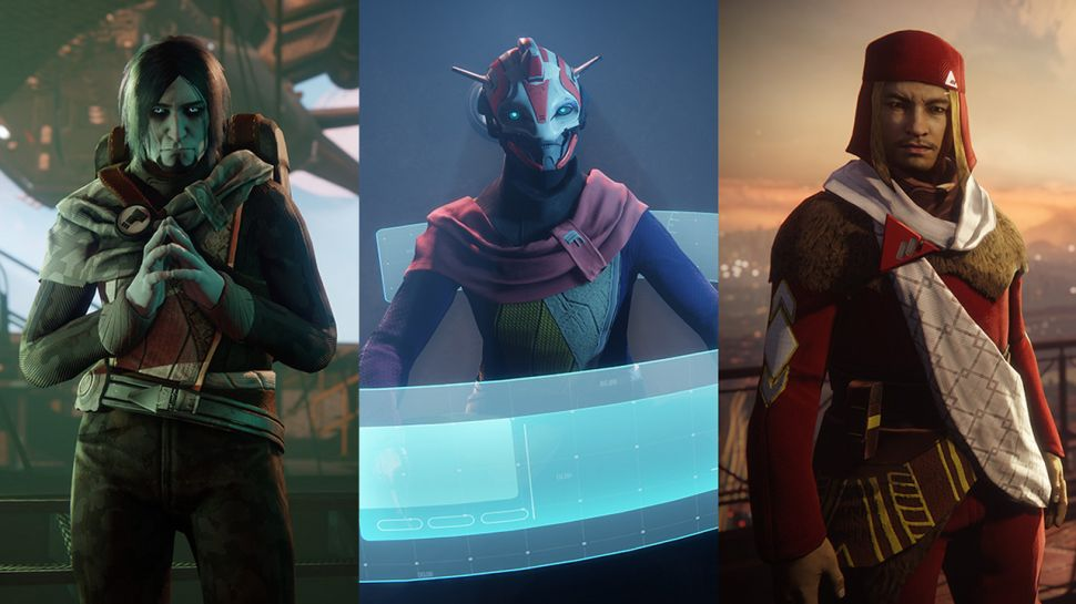 Members of Destiny's three Factions