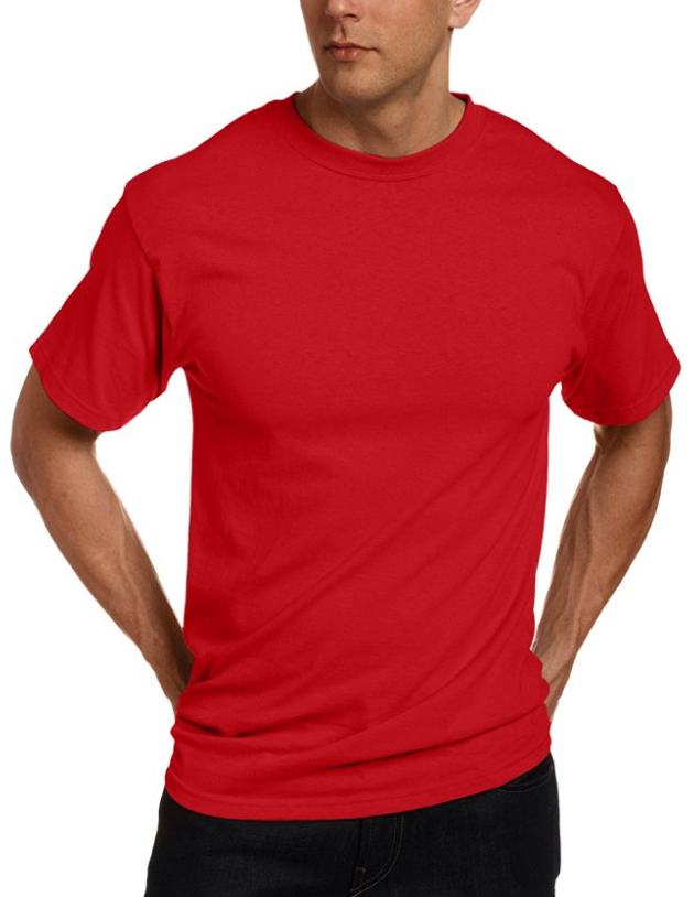 CHOOSE A RED, BLUE, OR PURPLE T-SHIRT