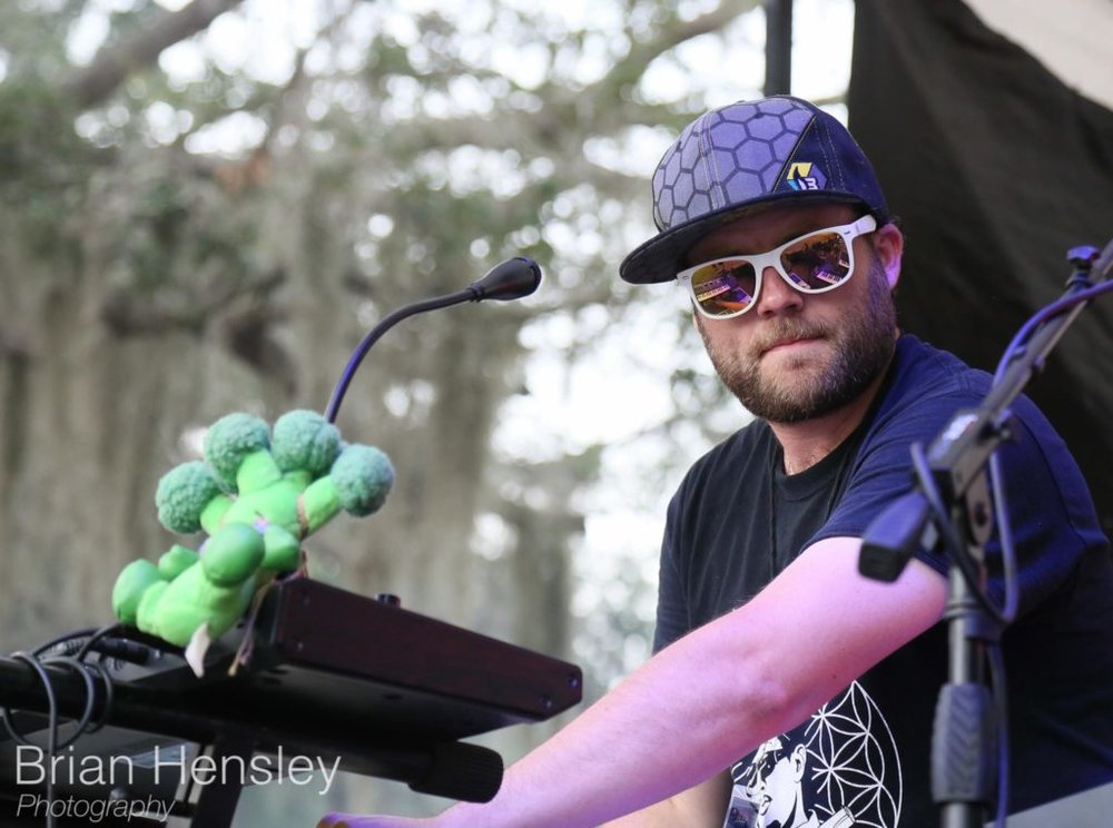 "Ryan ""Bruce"" Hodson. Keyboardist and mastermind of Broccoli Samurai"
