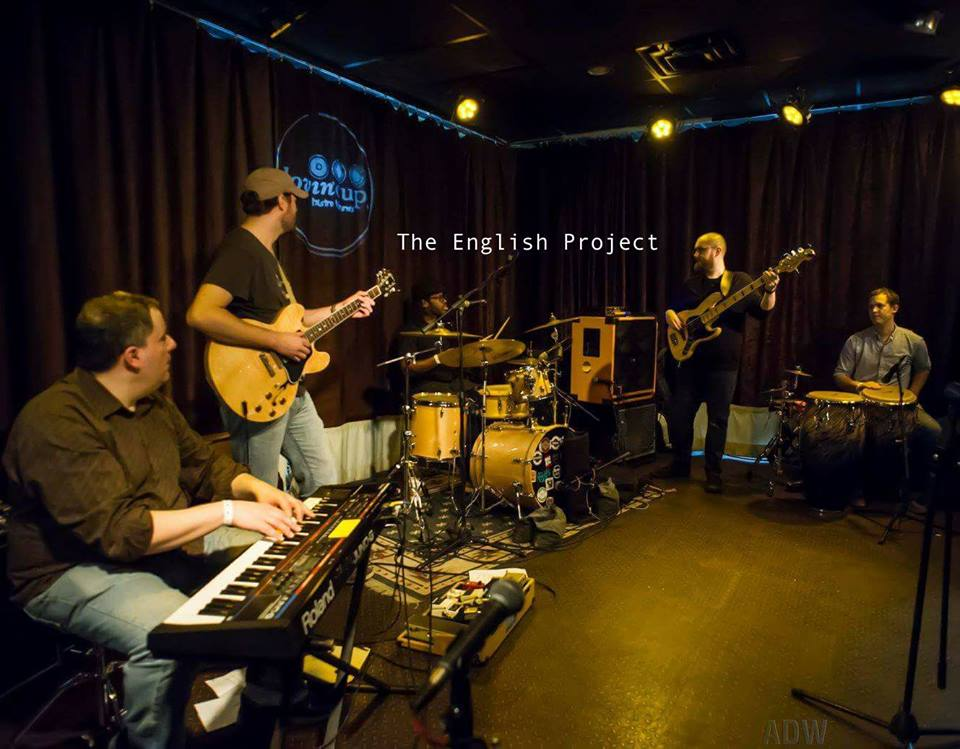 The English Project is: Chris English on Drums/Vocals, Paul McArdle on Guitar, Andres Rivera on Bass, and Dave Solazzo on Keys