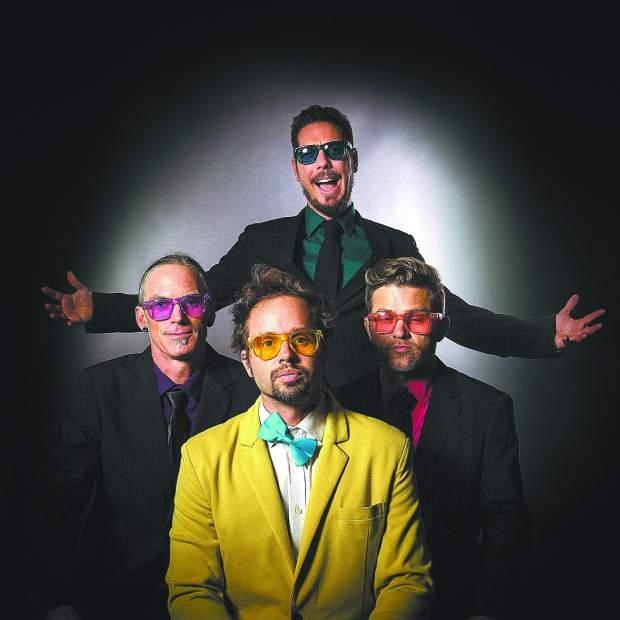 The Diplomatic Scandal is:  David Sugalski  (funk ambassador),  Ryan Herr  (guitar/percussion),  Tyson Leonard  (violin), and  Jesse James  (sax and flute)