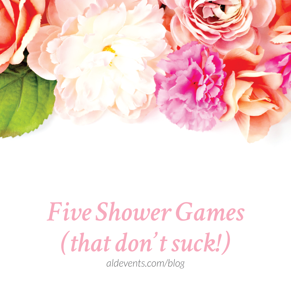 five bridal shower games that dont suck