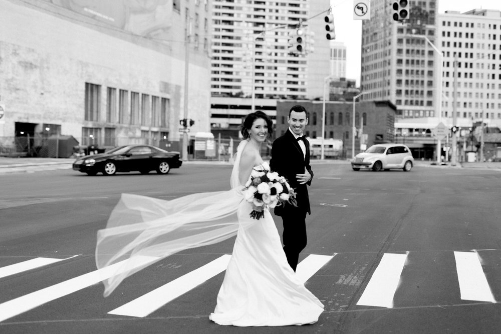 Elegant Detroit Fall Wedding Planner Grand Rapids Traverse City Michigan