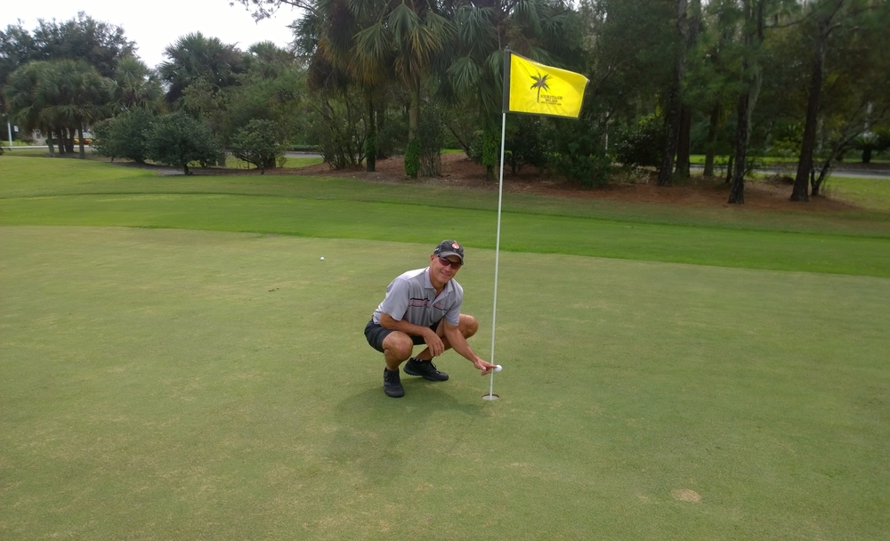 11-15-2015, Heritage Isles Golf & Country Club, Hole #5, 179 yards, 7 iron