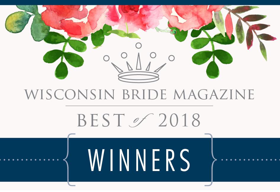 Wisconsin Bride Magazine's Best Wedding Desserts 2018