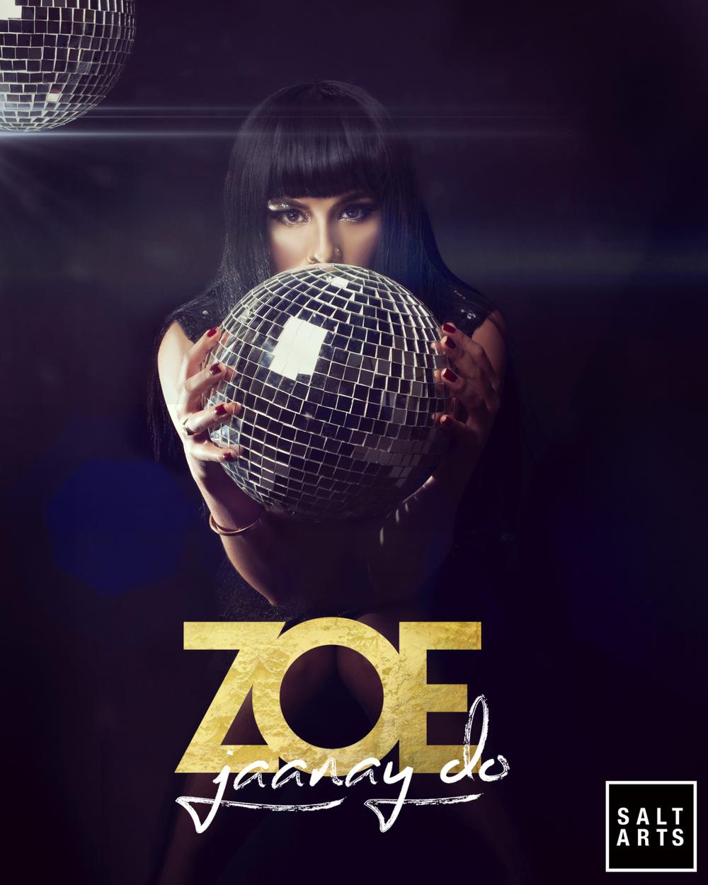 01 Zoe Viccaji Jaanay Do Disco ball.jpg