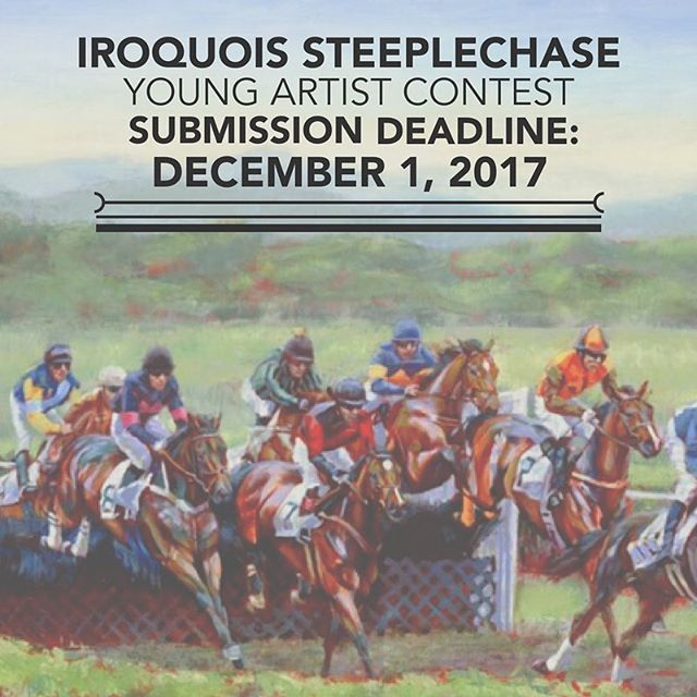 Calling all young artists! The 2018 #TNsteeplechase featured artist contest is open to anyone ages 8-19. Visit us for more info on how to submit your artwork: https://goo.gl/Prj1Ah