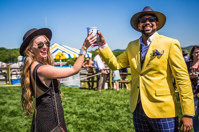 Cheers to the weekend! 🍻#FlashbackFriday #TNSteeplechase
