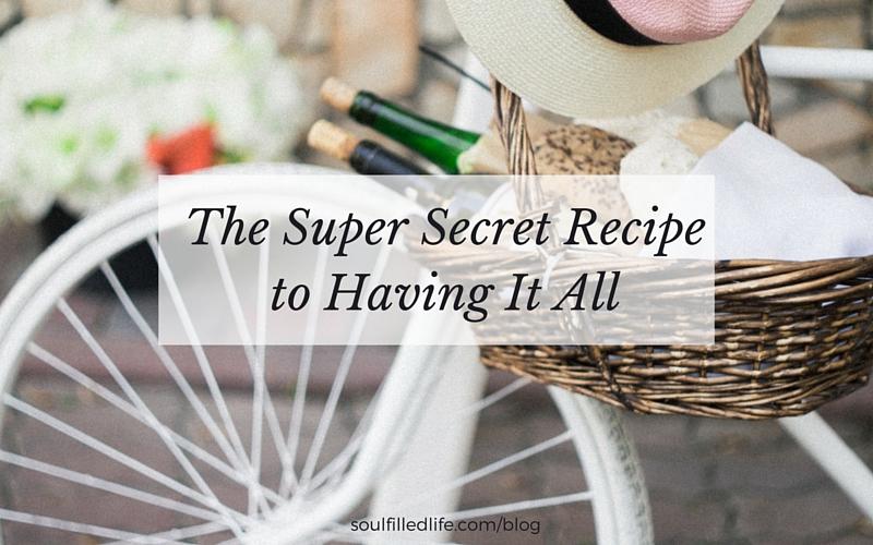 Super Secret Recipe