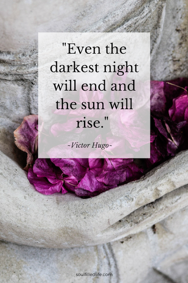 Even the darkest night