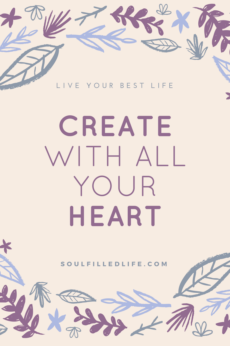 Create with All Your Heart