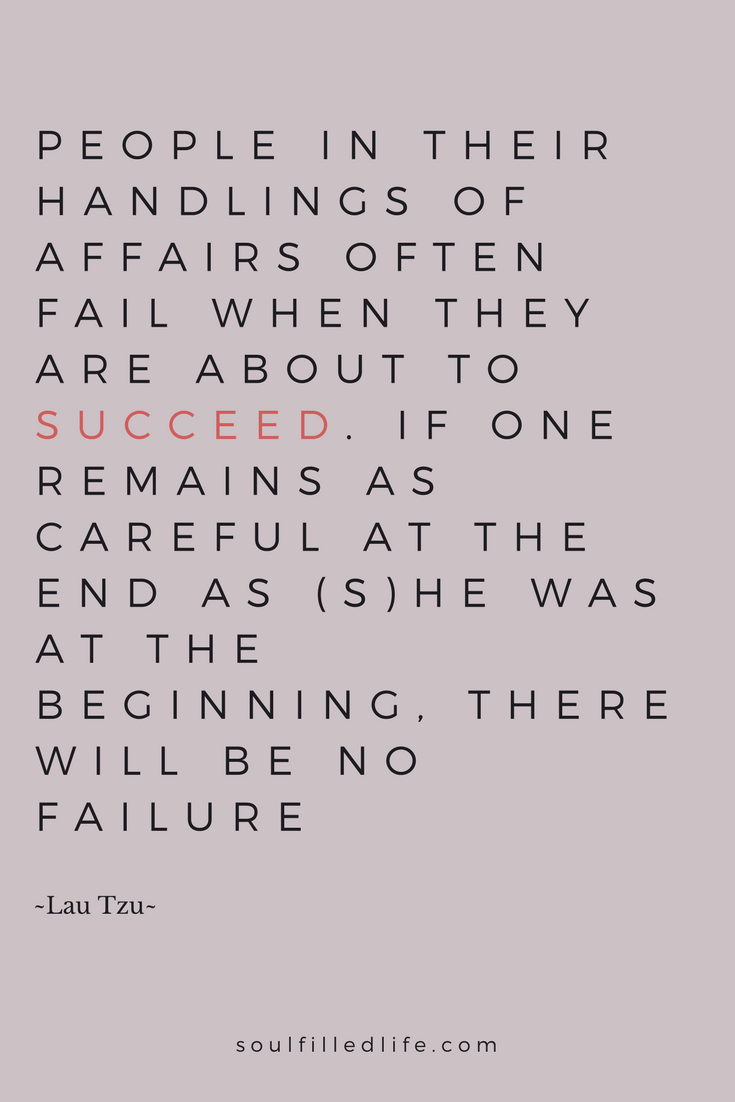 Lau Tzu How to Succeed Quote