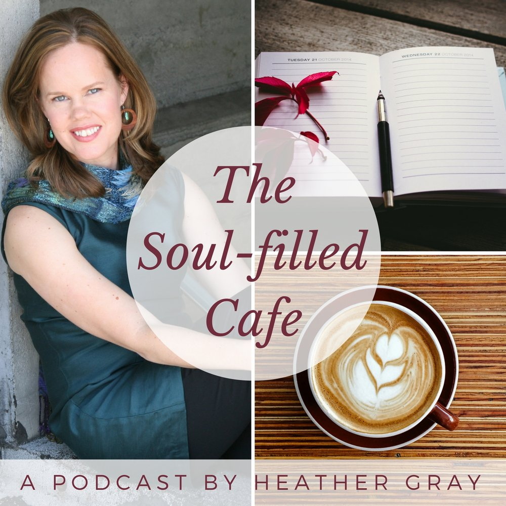 SF Cafe Podcast cover design
