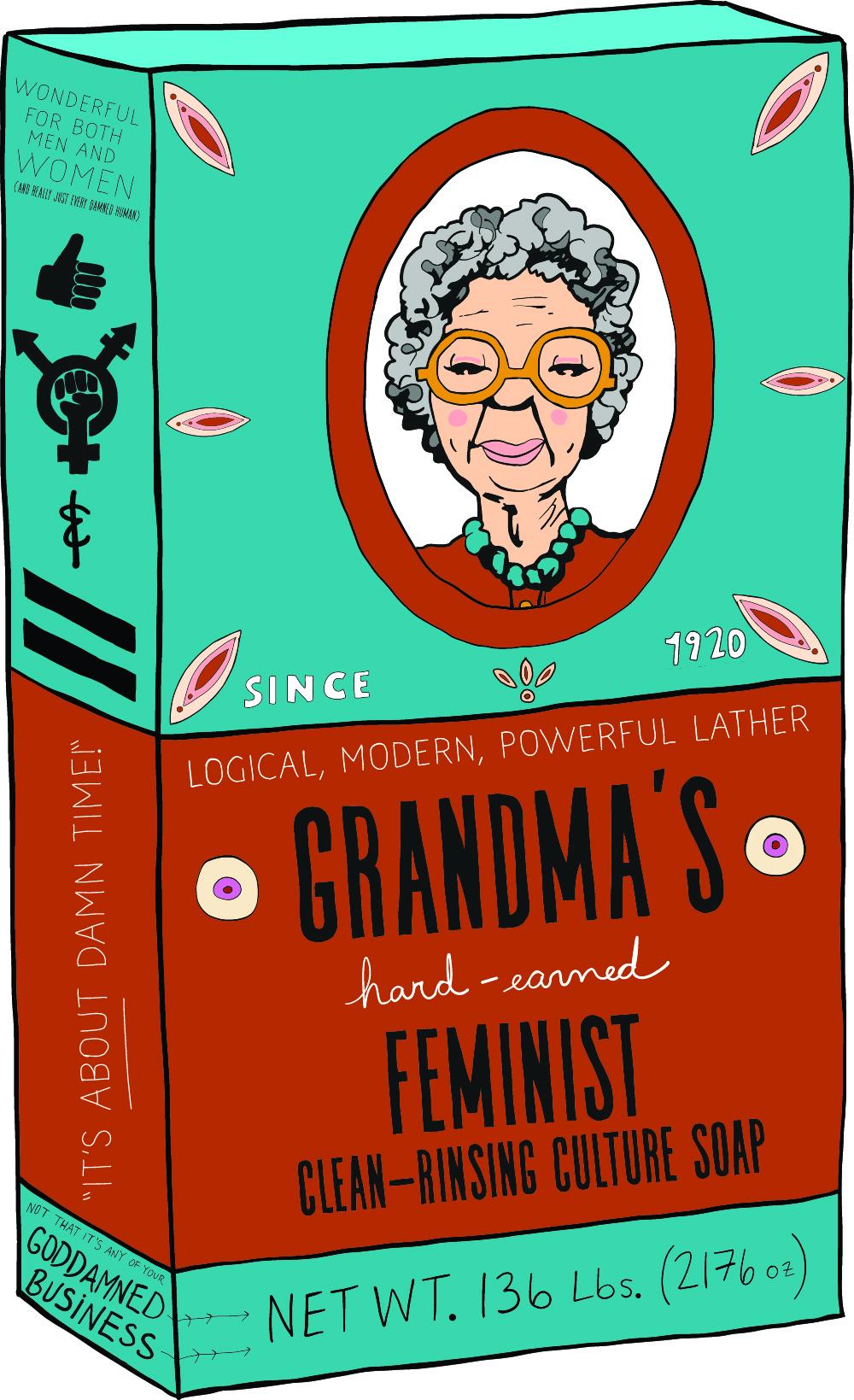 GRANDMA'S FEMINIST SOAP
