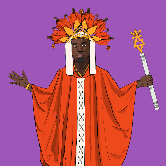 THE HIEROPHANT: KANYE WEST