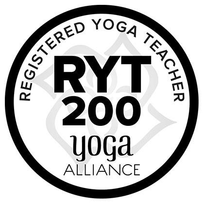 Registered Yoga Teacher, Yoga Alliance International