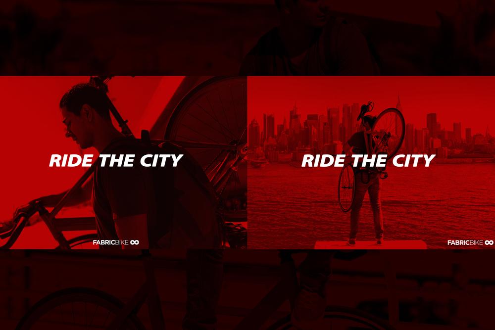 Client: Fabric Bike Campaign: RIDE THE CITY Art Direction & Stills: Leandro Crespi