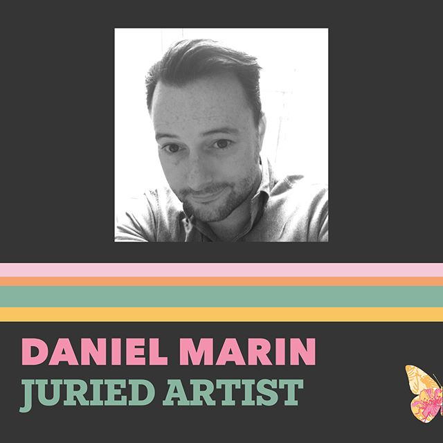 Creating work under the conceptual moniker Department M, Daniel Marin's paintings bring together elements of pop, abstraction, street art, carpentry and décollage, depicting colorful and surreal moments in time. Each piece is created using a layering approach made up of steps of silk-screening, freehand painting, hand cut stenciling and collage work, producing impactful compositions built on the artist's patience and pleasure.