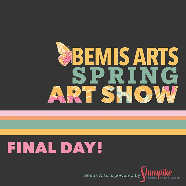Today's the final day of our Spring Art Show! Our halls and studios will be open to the public from 12pm-6pm today. We have the work of 55 juried artists, a dozen open studios, live painting sessions, and musical performances. Check the updated schedule on the website (link in profile.) Can't wait to see you today!