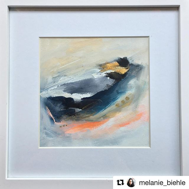 #Repost from @melanie_biehle  Melanie Biehle, an awesome Spring Show Juried Artist will have work up this Thursday for #firstthursday at @jacksonst.studio! ・・・ Framing a couple of small mixed media paintings for my show at @jacksonst.studio on Thursday. Hope to see some of you there! Event info on their website. #melaniebiehle #mb_whatliesbeneath #jacksonststudio