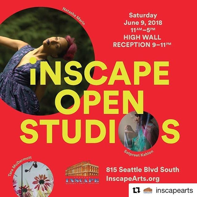 We're super excited about Inscape's Open Studios this Saturday! Great artists in a super cool historic building...not to be missed.
