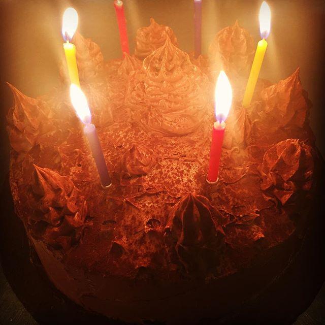 You'd like us to make you a #chocolate #birthdaycake  oh go on then... Boom! #chocoholic #bristolpubfood #happybirthday #weaimtoplease