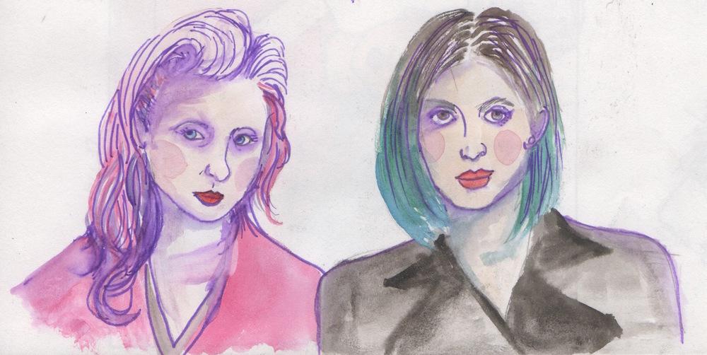 Pussy Riot: Nadezhda Tolokonnikova & Maria Alyokhina
