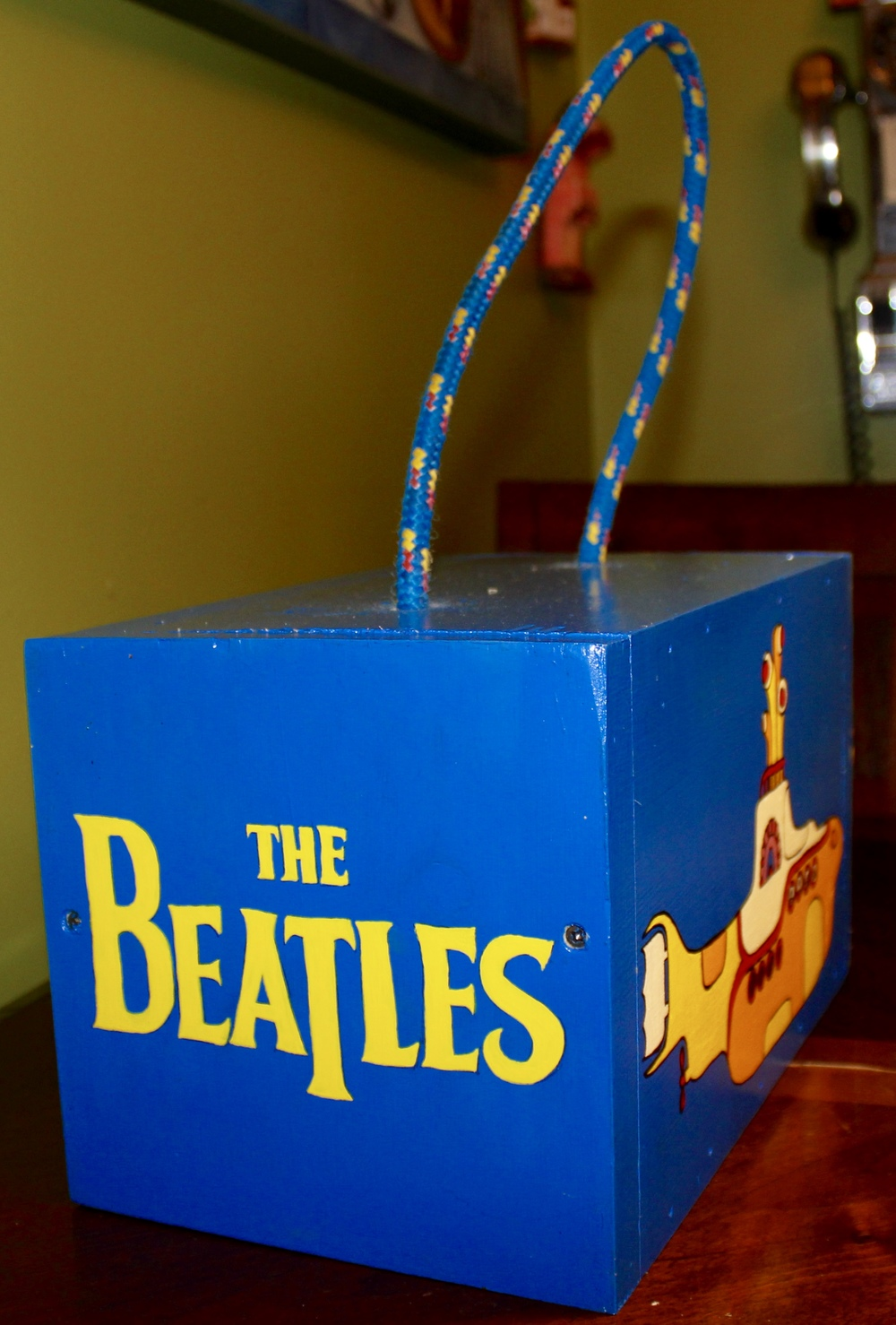 The Beatles Yellow Subamrine House
