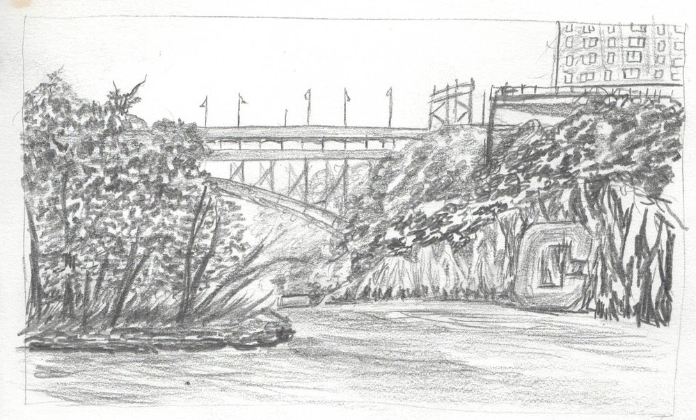Inwood Hill Park Pencil