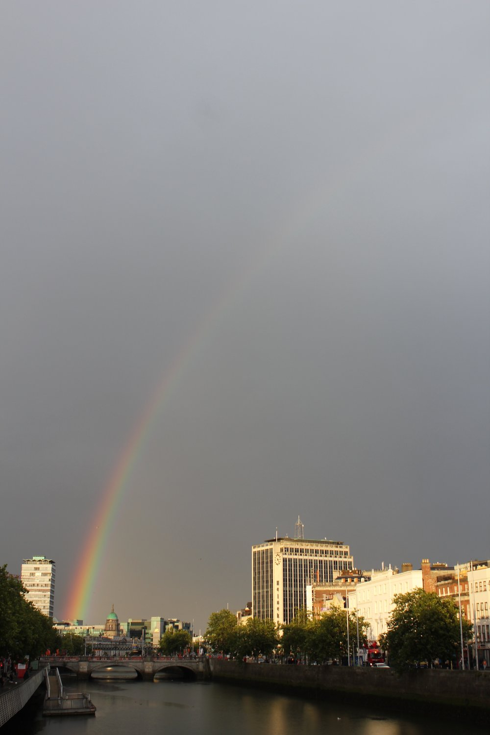 Rainbow in Dublin