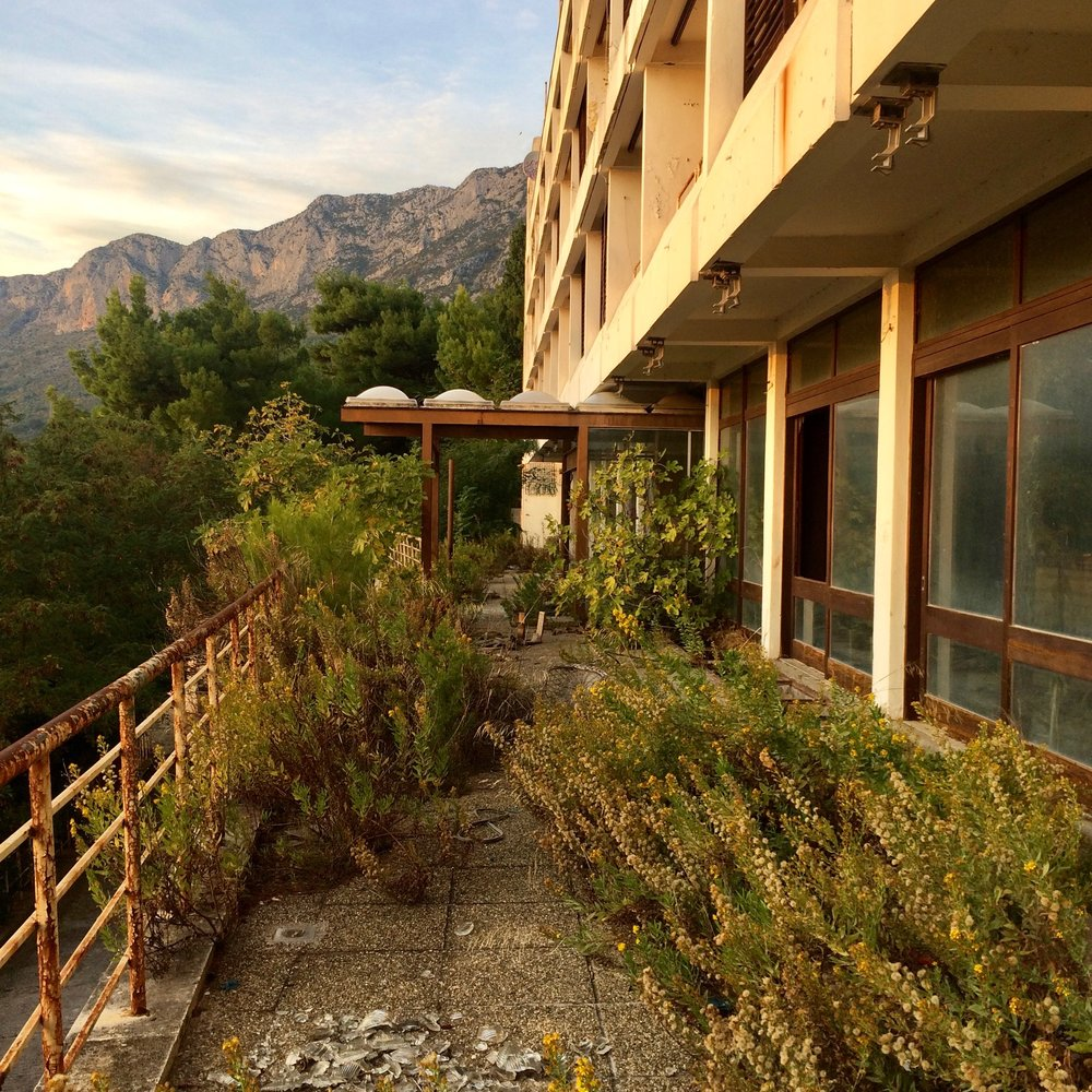 Hotel (unidentified). Gradac, Croatia.