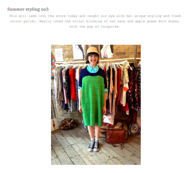 Mercantile Blog  Summer Styling - June 2013