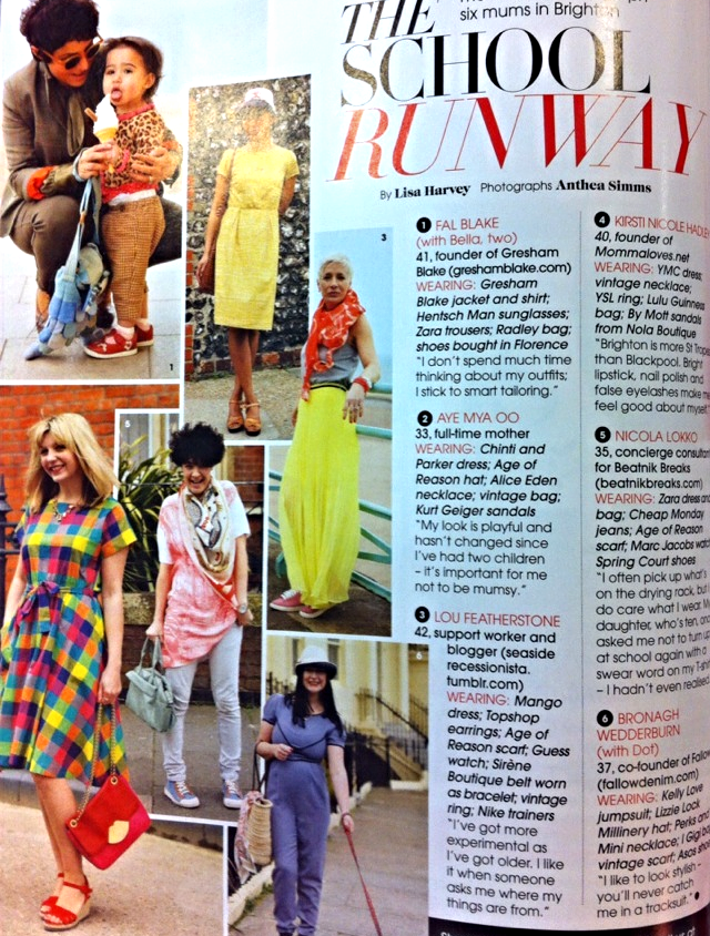 "Easy Living Magazine  ""The School Runway"" - 26/04/13"