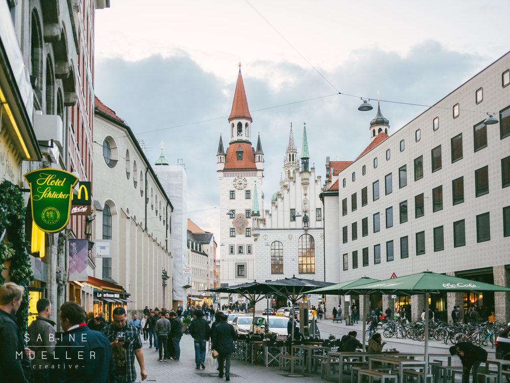 Munich Pedestrian Zone