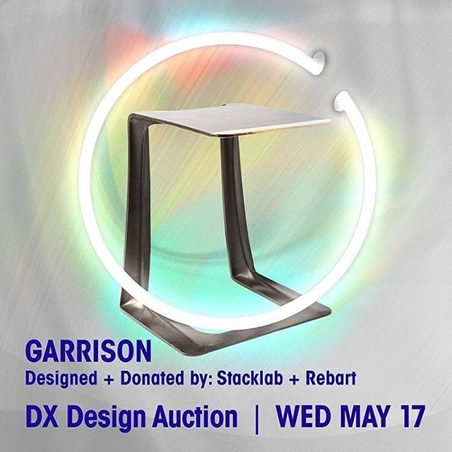 Want to own a piece of Toronto history? @designexchange is auctioning off one limited edition Garrison. Up for bids next Wed. May 17th. #dxda17 #torontodesign #contemporarydesign #historictoronto #thegarrison