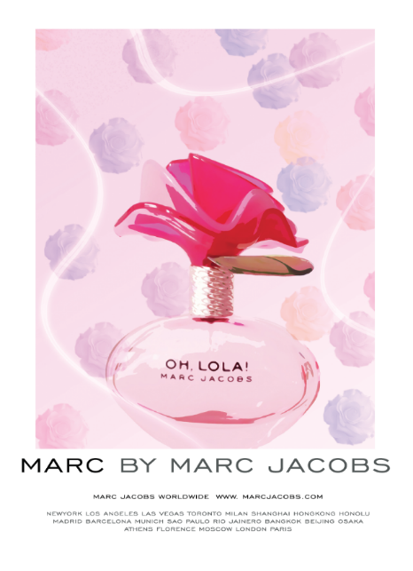 Marc Jacobs   Inspired Ad:   Inspired by Marc Jacobs  advertisements. Creation of the layout and design of the ad. Use of Photoshop, InDesign, Illustrator. Photograph by: Catalina Morillo