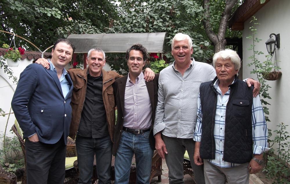 l to r: Andrei, Aleco, Serge, Sergiu, Radu