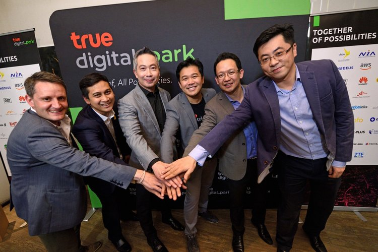 True Digital Park joins forces with the government and global tech giants