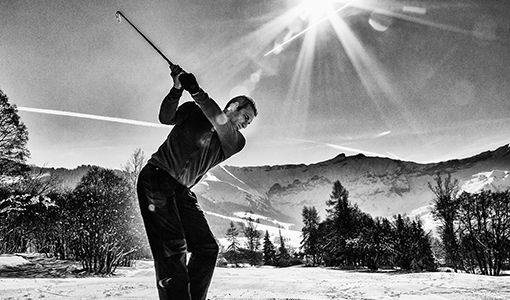 Black And White Golf Images
