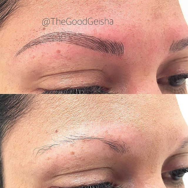 Love these brows on her!! 😍Check out @emmy.thegoodgeisha and her work!! . . . WWW.GOODGEISHA.COM . . . #thegoodgeisha #annavictorias #perfectbrows #tattoofixer #microblading #micropigmentation #the6ix #eyebrows #brows #browsonfleek #tattoo #facetattoo #3Dbrows #mac #makeup  #sephora #wakeupandmakeup #torontostyle #archaddicts #eyebrowsonpoint #makeupbloggers #HDbrows #womenshow
