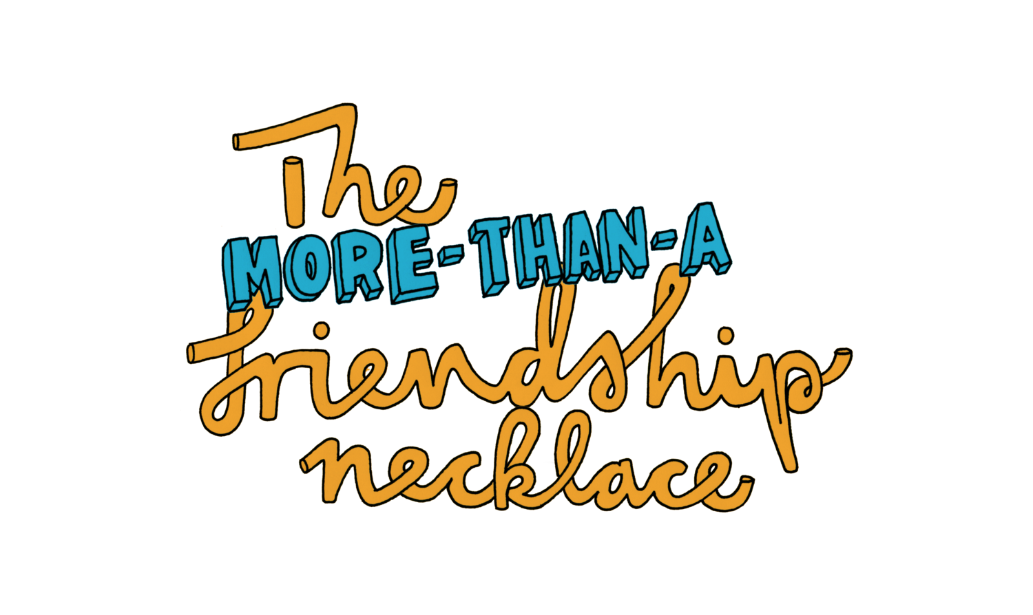 More Than A Friendship Necklace