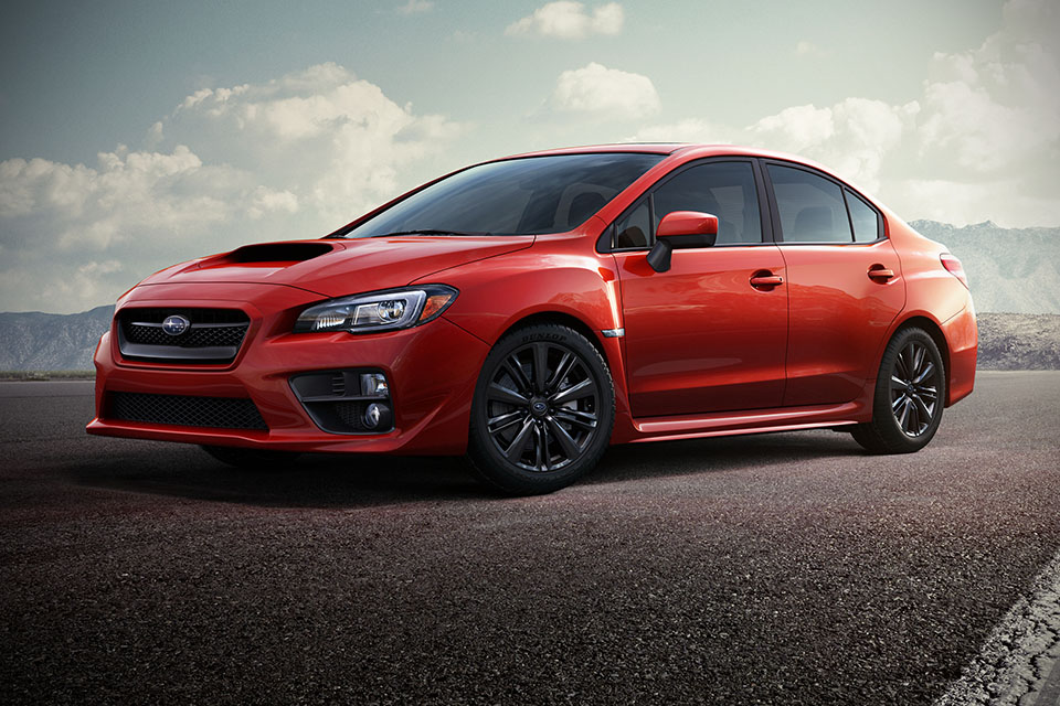 4. Subaru WRX - From $314/month